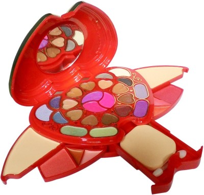 ADS ADS-23Eyeshadow::2Blusher::2CompactPowder::4LipColor::1Puff::1Mirror::Makeupkit