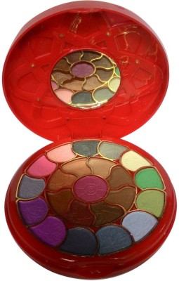 ADS ADS-22Eyeshadow::2Blusher::3CompactPowder::4LipColor::1Puff::1Mirror::Makeupkit