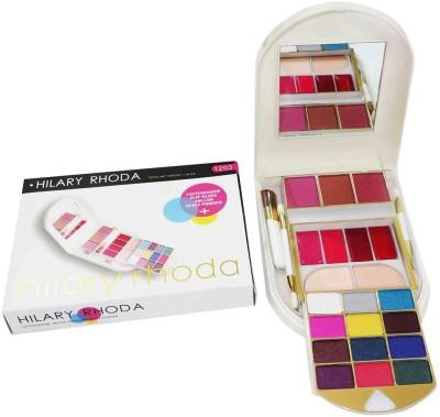 Hilary Rhoda Eyeshadow Lipgloss Compact and Blush Kit