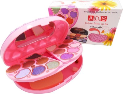 ADS Fashion Colour Make-up Kit With Free Mars Eye/Lipliner & Adbeni Accessories-APPO