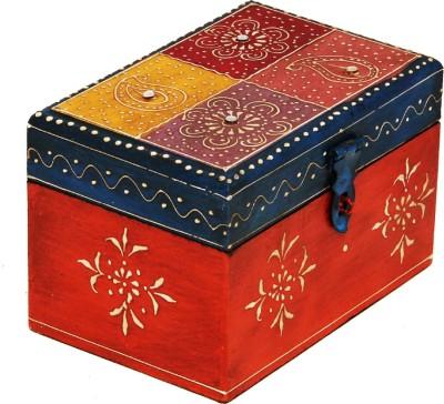 Craftmansion Painted Wooden Makeup Vanity Box