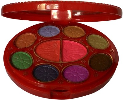 ADS ADS-8Eyeshadow::2Blusher::2CompactPowder::4LipColor::1Puff::1Mirror::Makeupkit