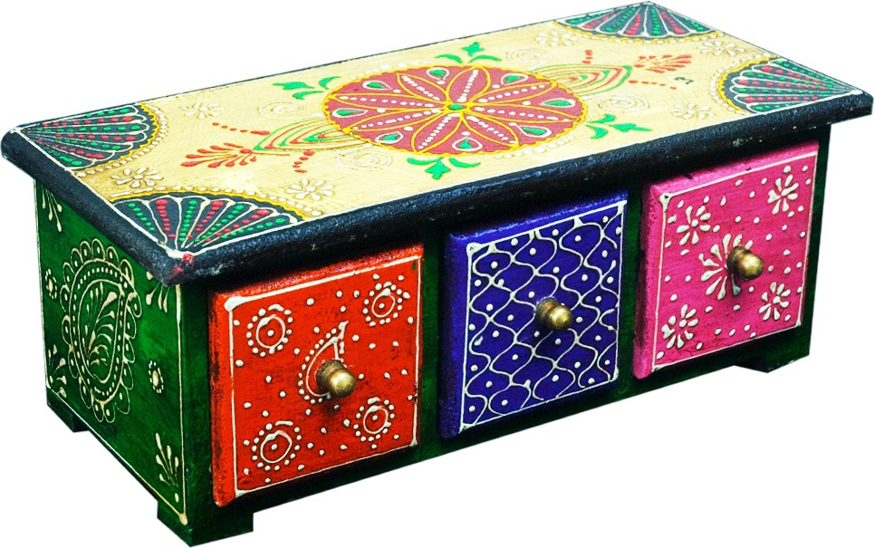 Shreeng SEBH004 Wooden Gift Box(Multicolor)