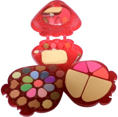 ADS ADS-21Eyeshadow::3Blusher::2CompactPowder::4LipColor::1Puff::1Mirror::Makeupkit