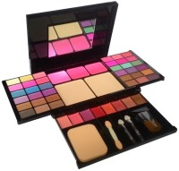TYA 36Eyeshadow::3Blusher::2CompactPowder::8Lipcolor::1Puff::1Mirror(Pack of 1)