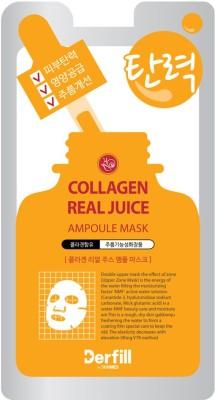Ampoule Mask Collagaen Realjuice 8+2 Mask Sheets