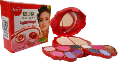 ADS ADS Fashion Colour Make-up Kit With Free Mars Eye/Lipliner & Adbeni Accessories-AHAA