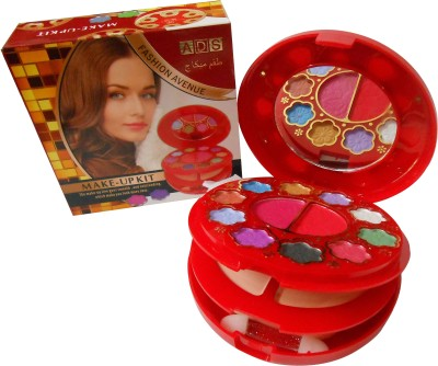 ADS ADS Fashion Colour Make-up Kit With Free Mars Eye/Lipliner & Adbeni Accessories-AOSM