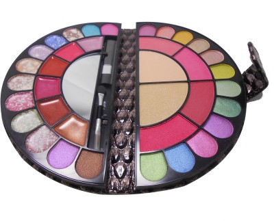 BR BR Trendsetter Colorbook Makeup Kit-With Free Mars Eye/Lipliner & Adbeni Accessories-RGRM