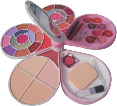 KASCN MAKE UP KIT FROM ADS MODEL NO. 3969-2 WITH ROUND MIRROR