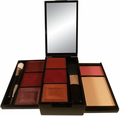 Anna Andre Paris Make up kit 10052 (Lipstick, Lip gloss, Eye shadow, Blush, Compact)