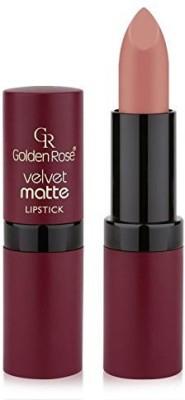 Golden Rose Velvet Matte Lipstick, 01, Oriental Pink
