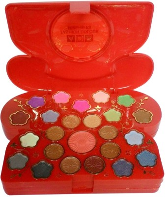 ADS ADS-24Eyeshadow::2Blusher::2CompactPowder::5LipColor::1Puff::1Mirror::Makeupkit