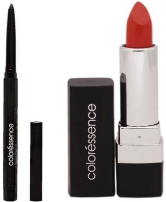 Coloressence Mesmerising Lip Color - Nectar 4 G 72 And Kajal Pencil 0.25 G