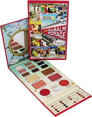 The Balm Voyage Vol. 2 Face Palette(Pack of 15)