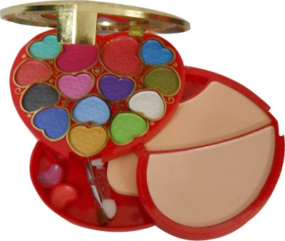 ADS ADS Fashion Colour Make-up Kit With Free Mars Eye/Lipliner & Adbeni Accessories-AHMA
