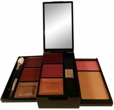 Anna Andre Paris Make up kit 10006 (Lipstick, Lip gloss, Eye shadow, Blush, Compact)