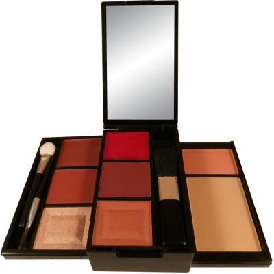 Anna Andre Paris Make up kit 10001 (Lipstick, Lip gloss, Eye shadow, Blush, Compact)