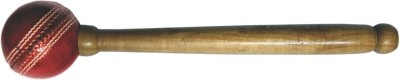 Wombat Knocking Wood, Leather Ball Bat Mallet