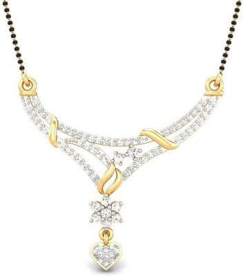 Candere C004091_14K_SIIJ Gold Mangalsutra Tanmaniya
