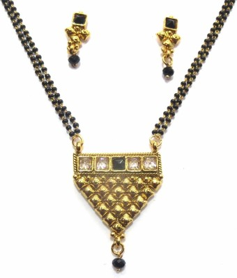 Jewelshingar 18037-p2 Brass Mangalsutra