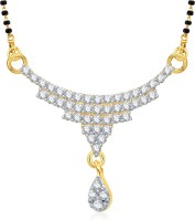 VK Jewels Three Layers Alloy Mangalsutra