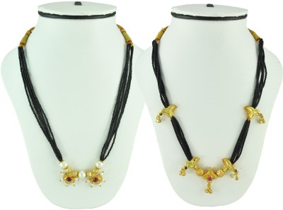 Sushito Attractive Combo Pack of 2 Alloy Mangalsutra