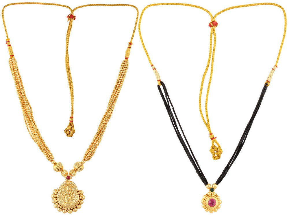 0ec72e8c39e Womens Trendz Combo Pack of Two Alloy Mangalsutra was ₹1510 now ₹855