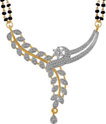 American Diamond Traditional Copper Mangalsutra