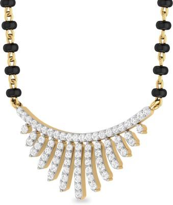 WearYourShine by PCJ The Mayan 18kt Diamond Yellow Gold Mangalsutra Tanmaniya