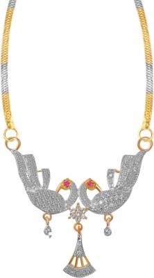 American Diamond Stunning Peacocke Alloy Tanmaniya