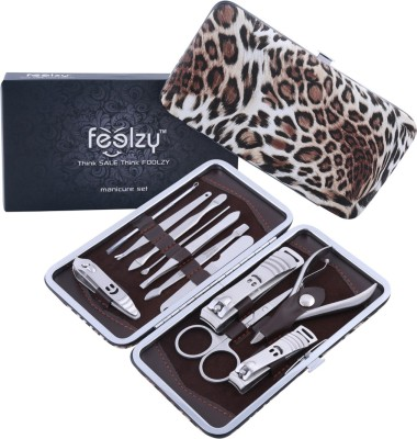 Foolzy 13 In 1 Professional Manicure and Pedicure Kit