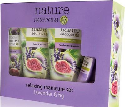 Oriflame Sweden Nature Secrets Relaxing Manicure Set Lavender & Fig