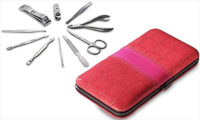 SRS Pink 10 In 1 Manicure Kit