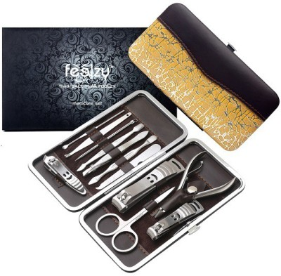 Foolzy 13 In 1 Manicure Pedicure Stainless Kit
