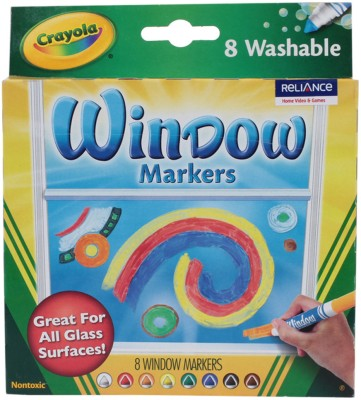 Crayola Markers Round Tip Washable Coloring Markers