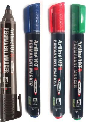 Artline 107R Bullet Tip Permanent Marker
