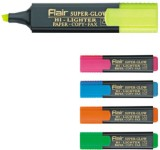 Flair Chisel Tip Highlighter Pens (Set o...