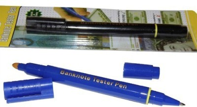 Imported Banknote Tester, ball pen Permanent Alcohol Dye Base Marker