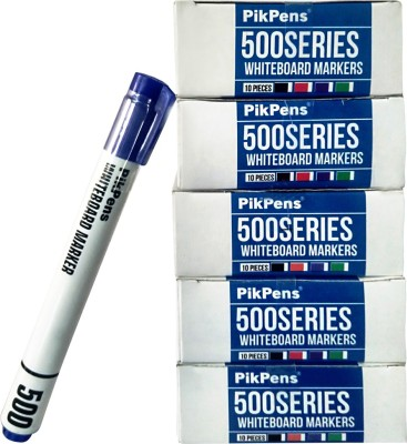 Pikpens Bullet Tip White board Markers Dry & Wet Erase