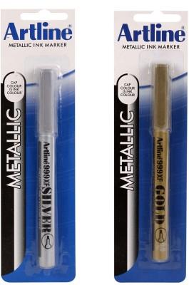 Artline Metal Tip Xylene Free Metallic Ink Marker