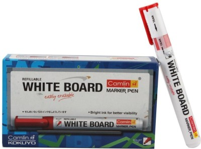 Camlin Bullet Tip Refillable Whiteboard Markers