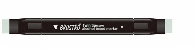 Brustro Double Sided Round, Broad Tip Permanent Alcohol Dye Based Markers