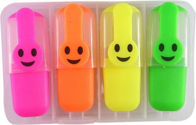 Saamarth Impex Conical Hi-Lighter Neon Color Hi-Light Marker Set