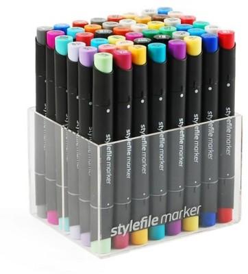 Stylefile Fineliner Tip, Chisel Tip Markers