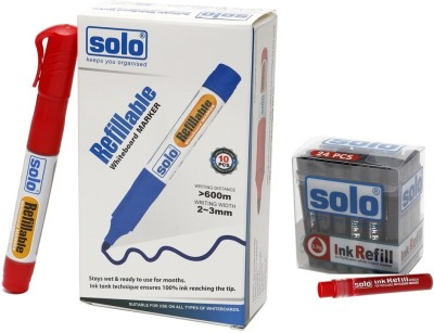 Solo Bullet Tip Liquid Ink Technology White Board Marker