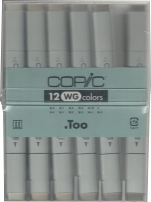 Copic Professional Warm Grey Permanent Alcohol Dye Based Marker
