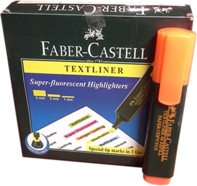 Faber Castell Broad Tip Permanent Dye Textliner