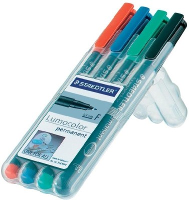 Staedtler Lumo Permanent Markers(Set of 4)