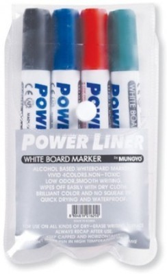 Mungyo Round Tip Alchohol Based White Board Markers Power Liner